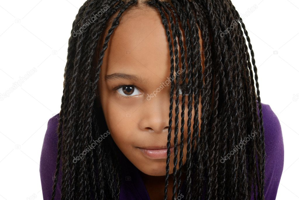 Áˆ Little Girl Black Braided Hairstyles Stock Pictures Royalty Free Black Braids Images Download On Depositphotos