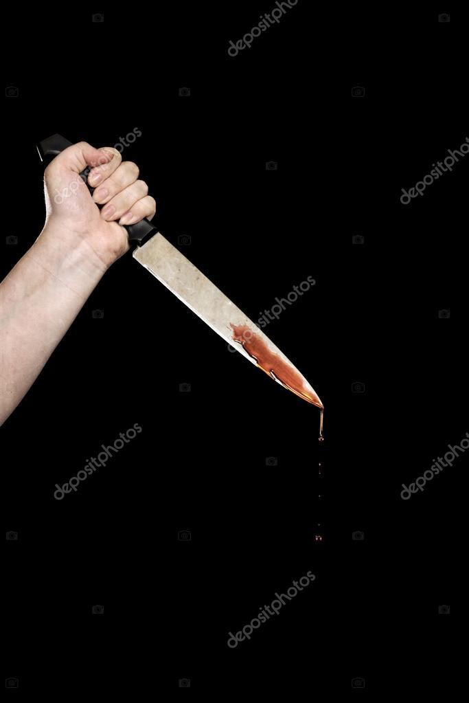 Resultado de imagen para imagen de mujer con cuchillo ensangrentado
