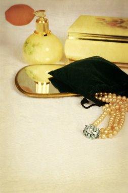 Still life women fashion accessories