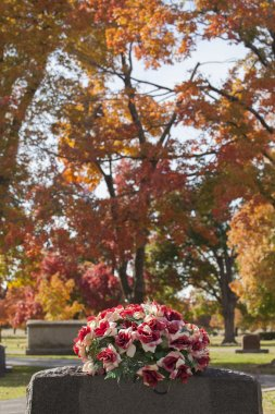 Red Rose Tombstone