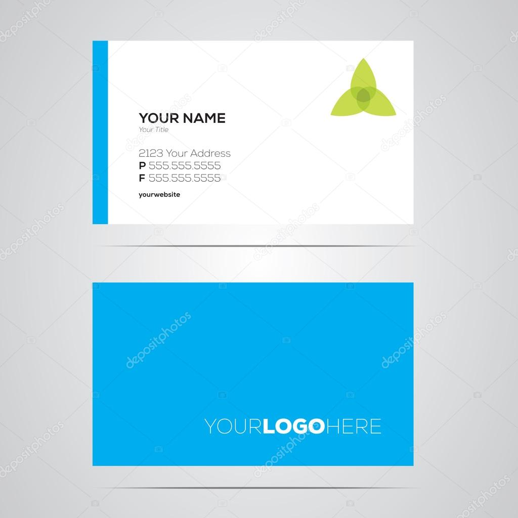 Business Card Layout — Stock Vector © justinkendra #19440713