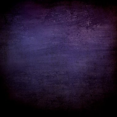 Black grunge background blue purple color spotlight wall and vintage grunge background texture