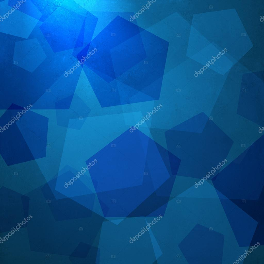 dae9b6e2 Abstract blue background of geometric shapes layered in random modern art  composition on texture and soft elegant corner spotlight for web template  ...