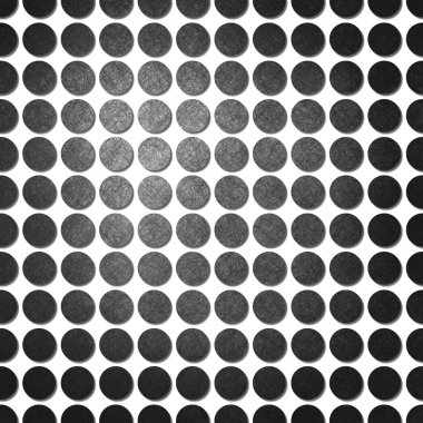 black polka dot pattern on white background paper