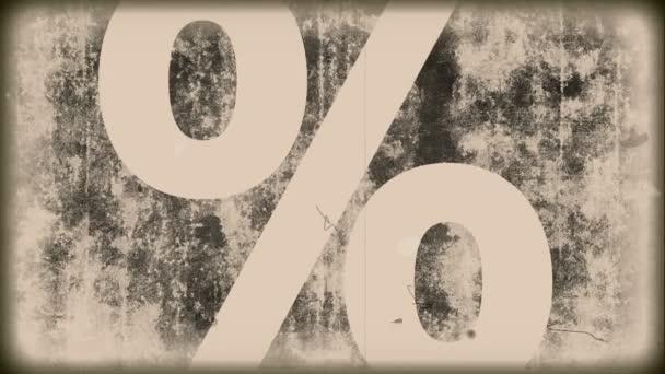 ročník grunge - znak procent
