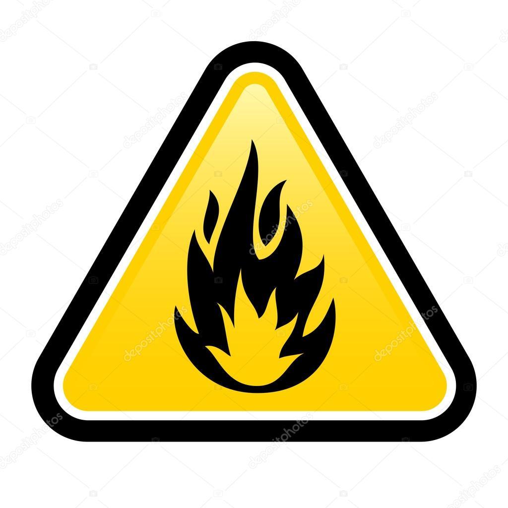 Flammable stock vector dvargg 18921543 warning sign of flammable product vector by dvargg buycottarizona