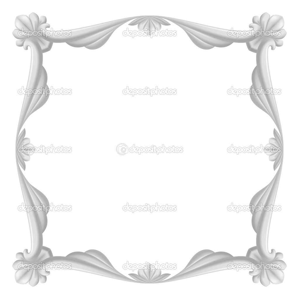 grauen Rahmen — Stockvektor © dvargg #25911375