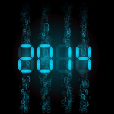 Digital 2014 numerals.