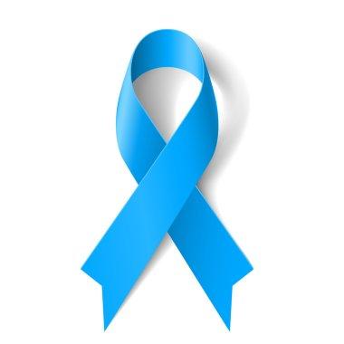 Blue ribbon.