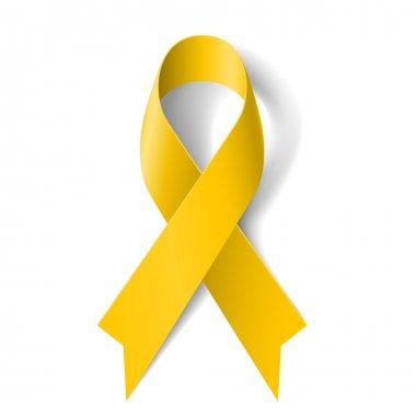 Yellow ribbon.