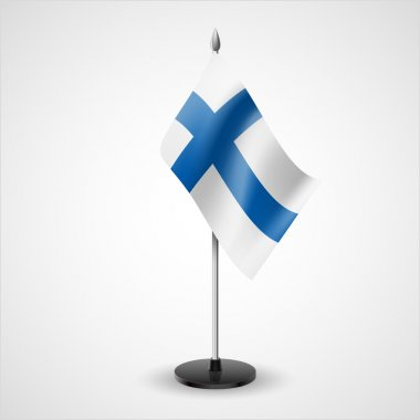 Table flag of Finland