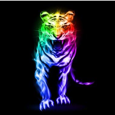 Spectrum fire tiger