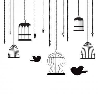 Birds and birdcages