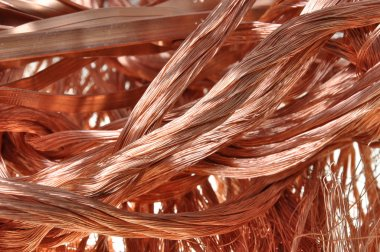 Copper raw material for industry