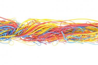 Tangled cables in telecommunication networks