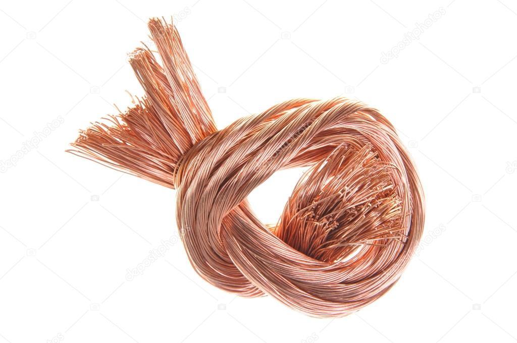 Schrott Kupfer Draht — Stockfoto © Zetor2010 #35070747