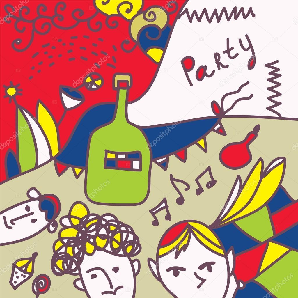 Картинки с приглашением на вечеринку, рождением