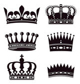 Fotografie Set of crowns