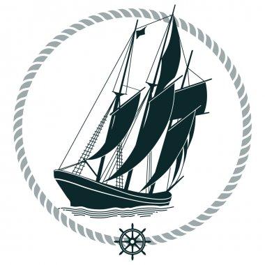 Sailing Ship Sign