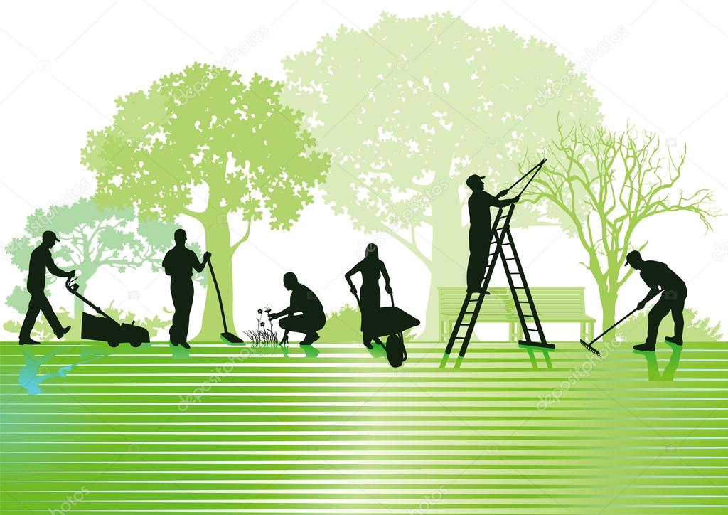 Gardening and garden maintenance stock vector scusi0 9 for Gardening and maintenance