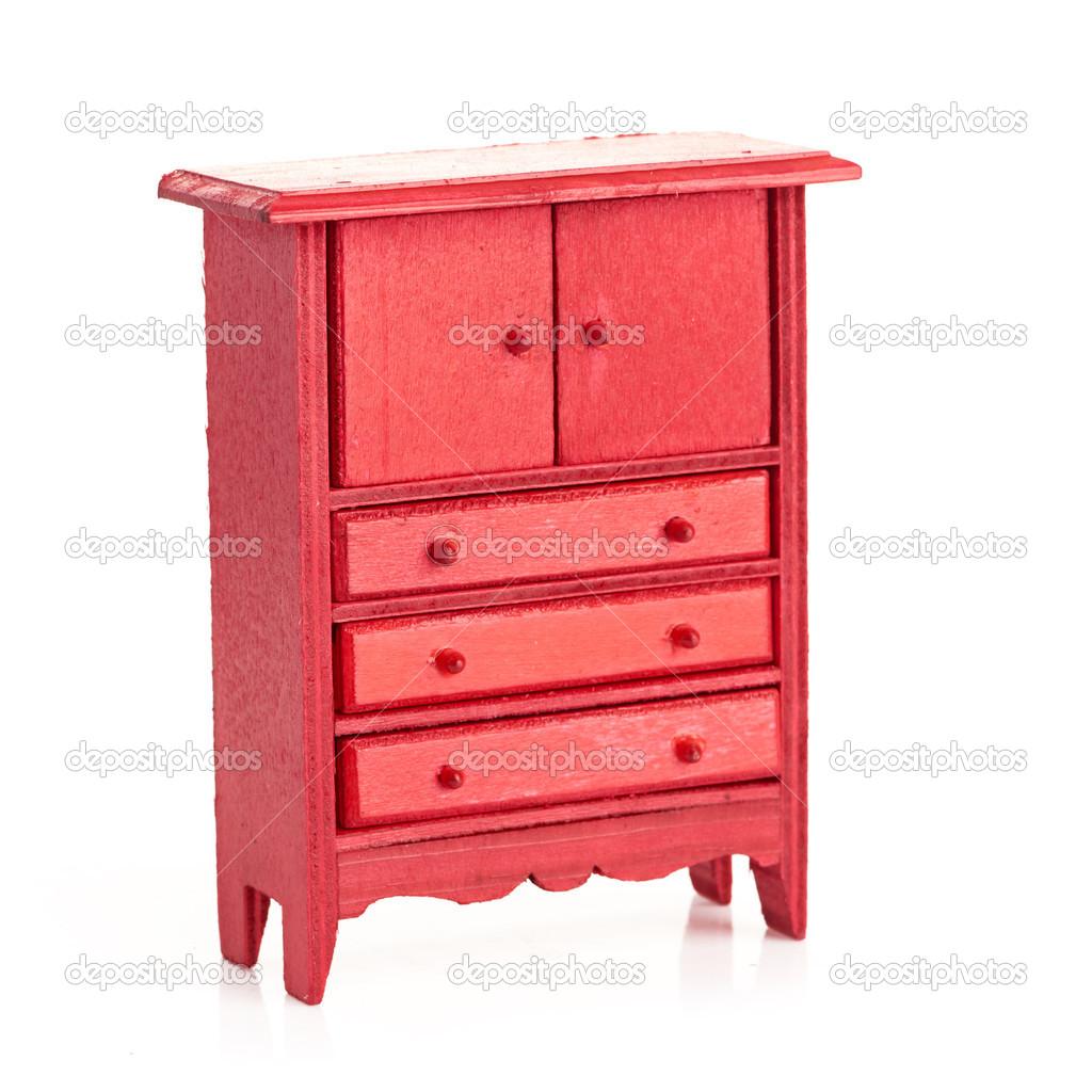 Rouge armoire pour enfants — Photographie merznatalia ...