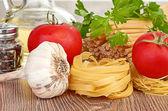 Fotografie nastavení těstoviny