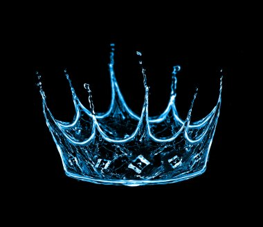 Crown from water