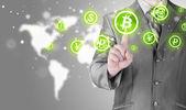 Fotografie Auswahl von bitcoins