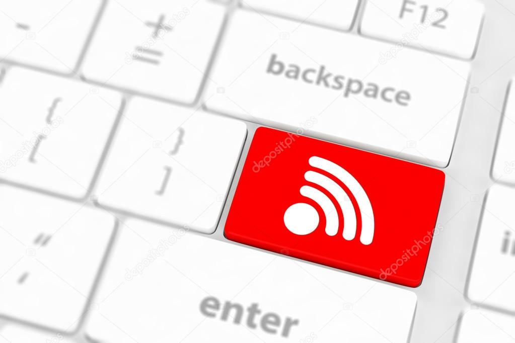 Wifi internet button — Stock Photo © merznatalia #50296693