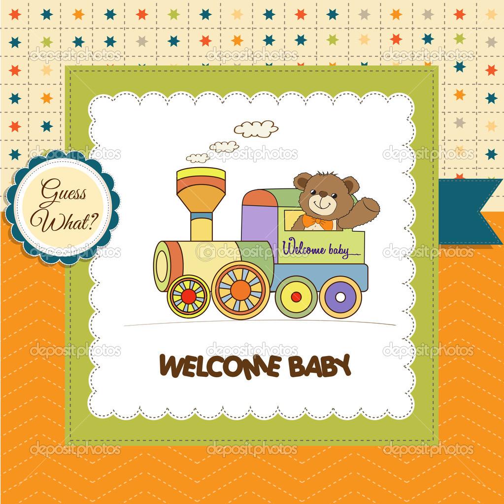 Baby Shower Safari Invitaciones En Blanco Tarjeta De Ducha