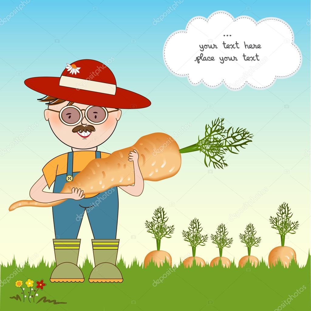 Открытка агроному