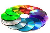 Color(Rainbow) cd a dvd média