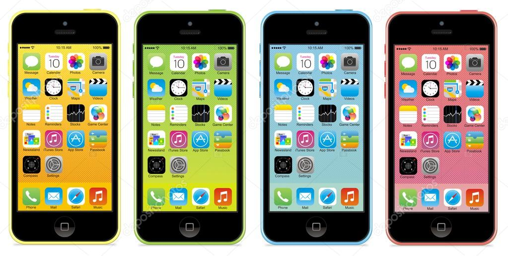 Color Iphone 5c