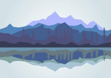 Vector - Mountain