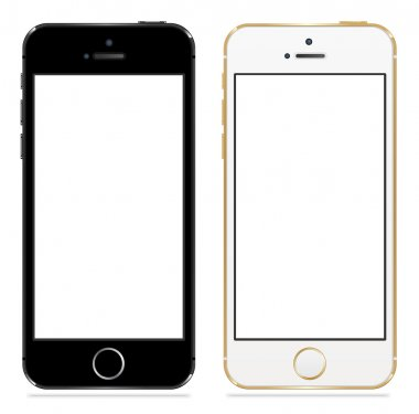Mobile phone smartphone iphone style in two sizes