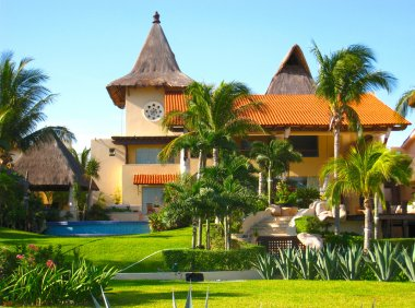 Mansion in Mexico Tropical Resort Home