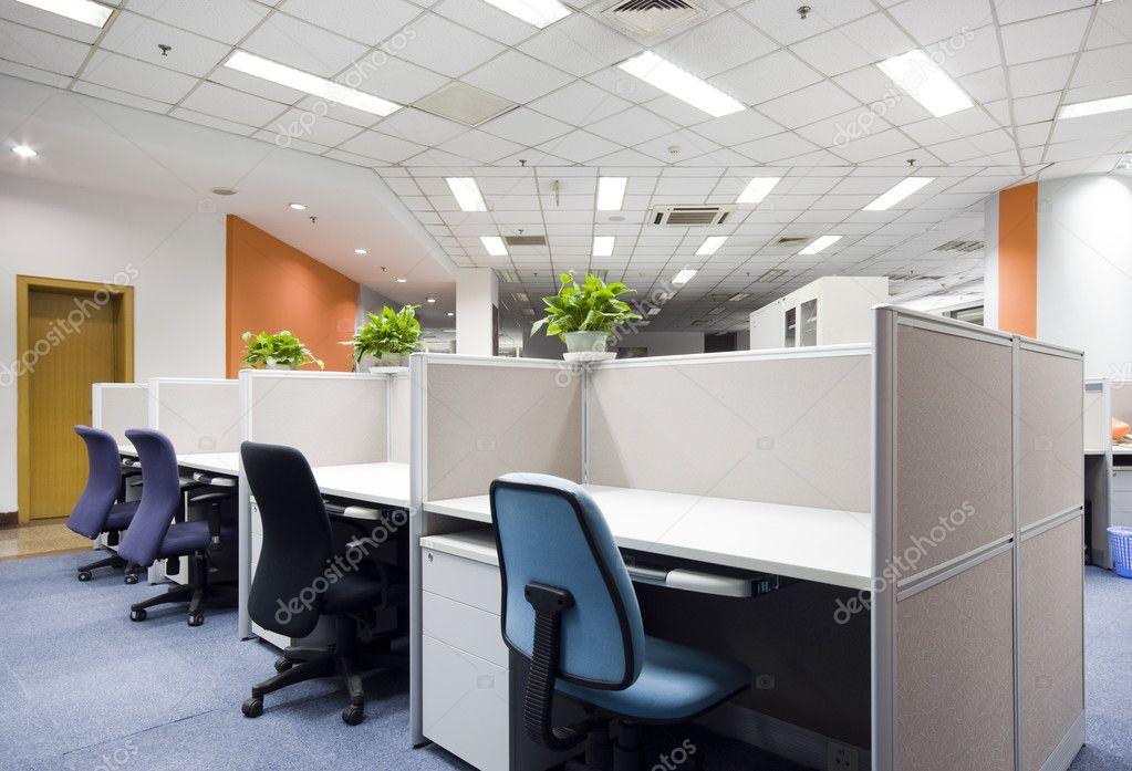 moderne kantoor interieur stockfoto
