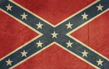 Grunge Confederate Flag