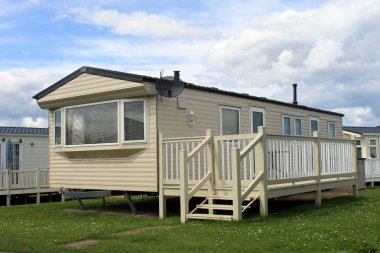 Holiday caravan or mobile home