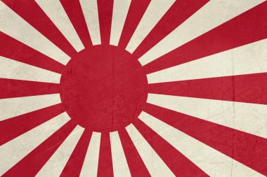 Grunge Japanese Navy Ensign