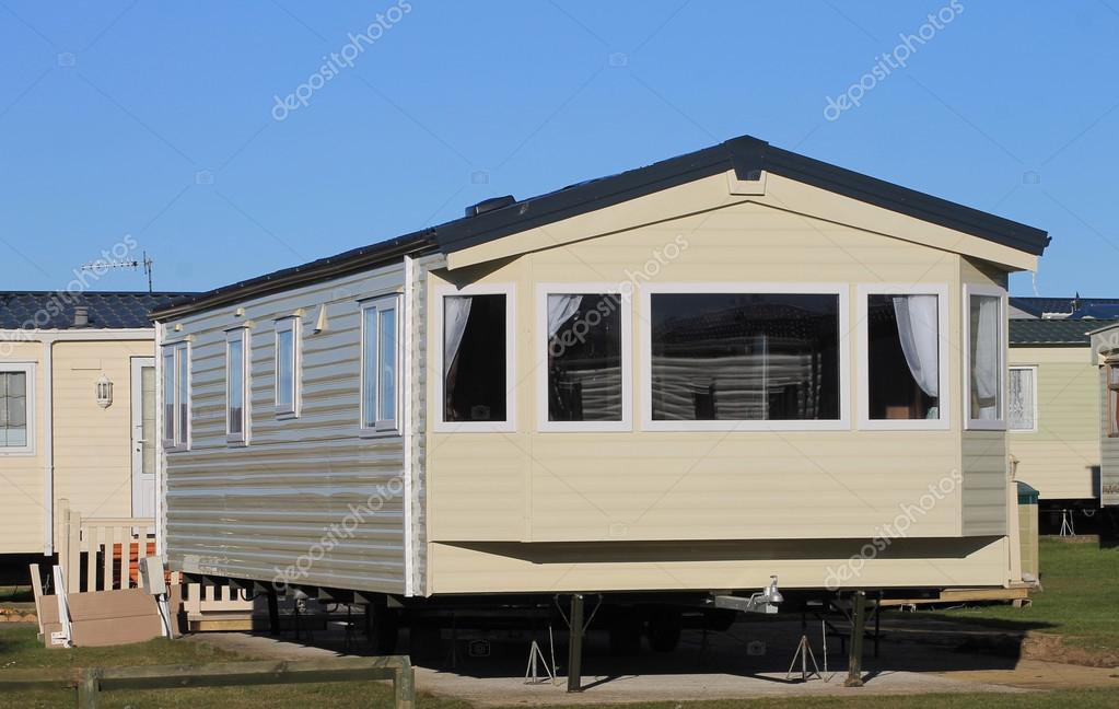 Casa mobile il parco del caravan foto stock - Casa del mobile rimini ...