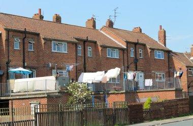 Modern terrace houses