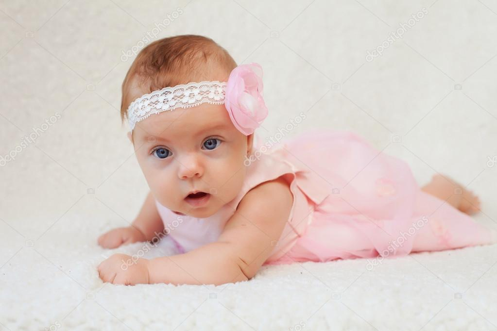 Newborn baby (at the age of 3 months)