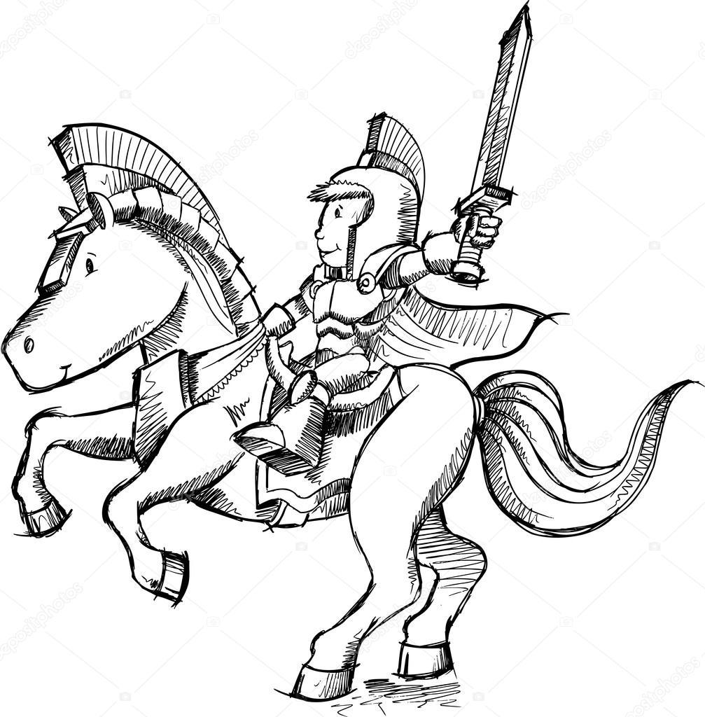 knight stock vectors royalty free knight illustrations