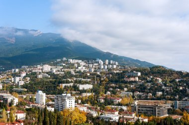 The city of Yalta. Ukraine.