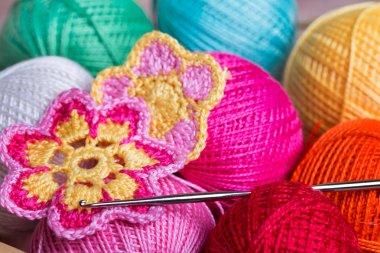 Crochet, soft focus