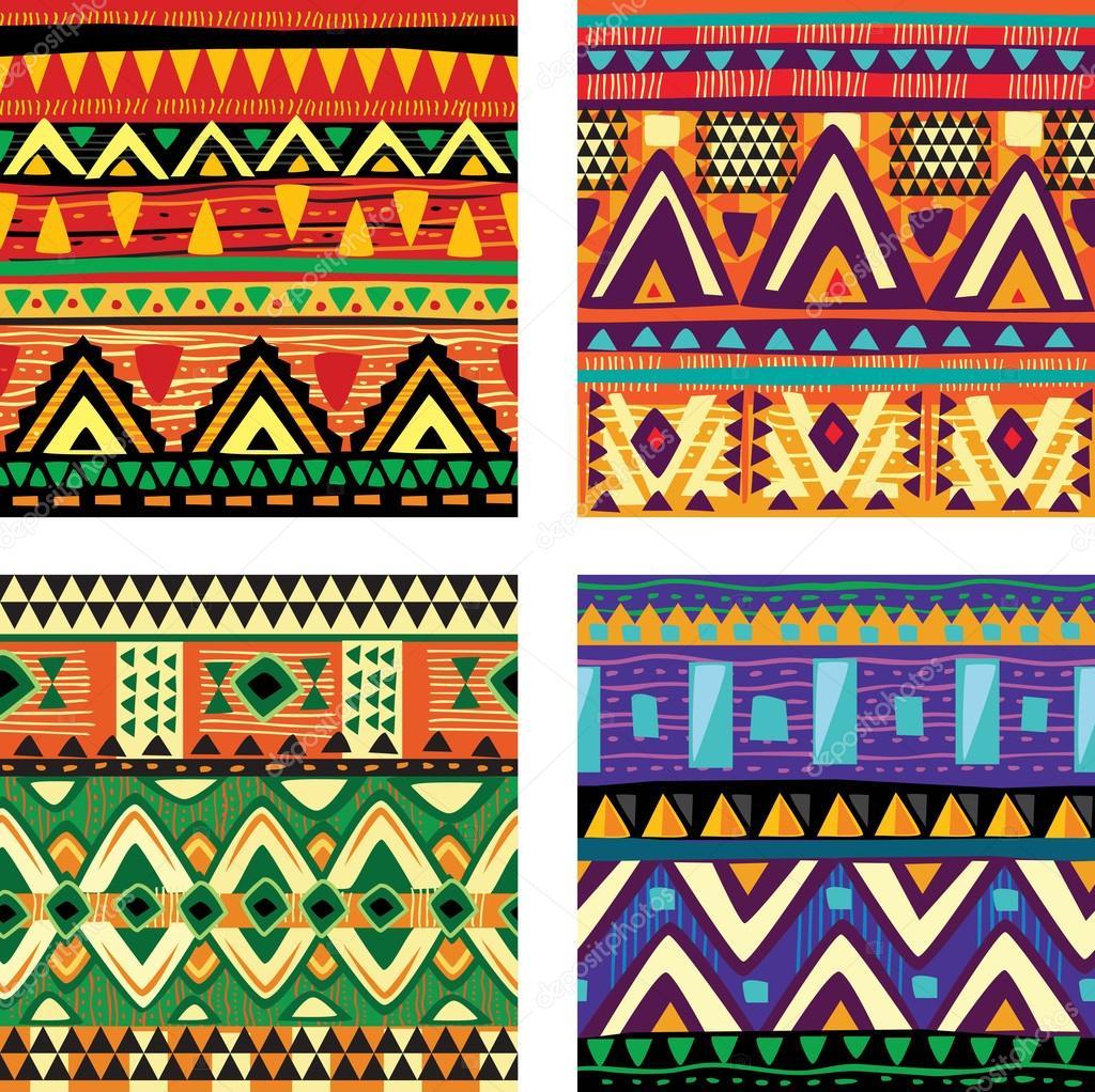 Seamless tribal texture