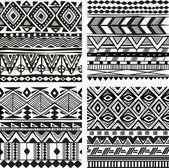 Fényképek Varrat nélküli törzsi textúra