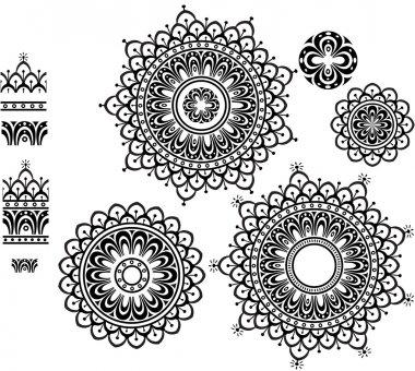 Ornament Pattern with pattern brash