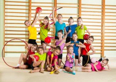 little happy gymnasts